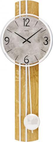 Ceas de perete cu pendul AMS 7466