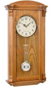 Pendula de perete Adler cu melodie Westminster 7008 Stejar  61x30 cm