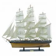 Nava Cutty Sark din lemn cu vele de panza 100x90cm 5148