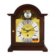 Ceas de birou mecanic Hermle cu melodie Westminster 22511-030340 Nuc 25.5x21.5 cm