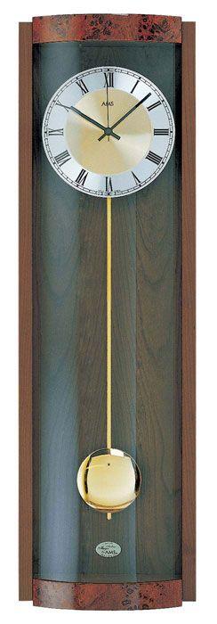 Pendula de perete Ams quartz cu melodie Westminster 5087 1 F nuc