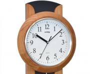 Ceas de perete cu pendul Cntop lemn masiv 70461