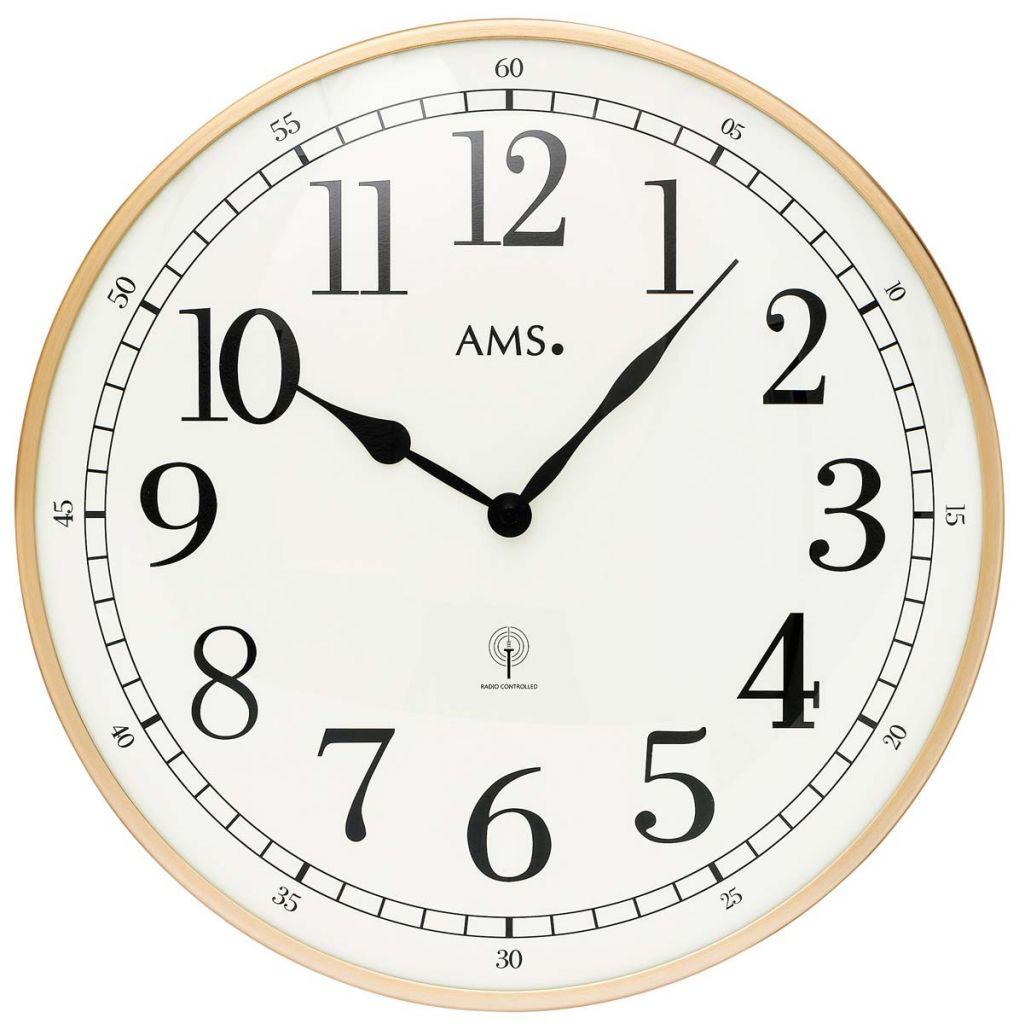 Ceas de perete AMS 5607, radio controlled