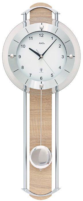 Ceas de perete cu pendul AMS 5305W