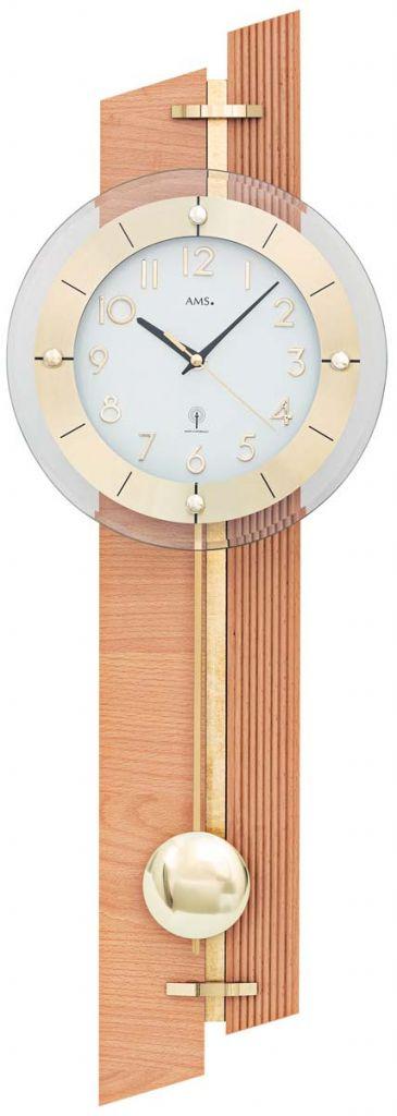 Ceas de perete cu pendul AMS 5307W