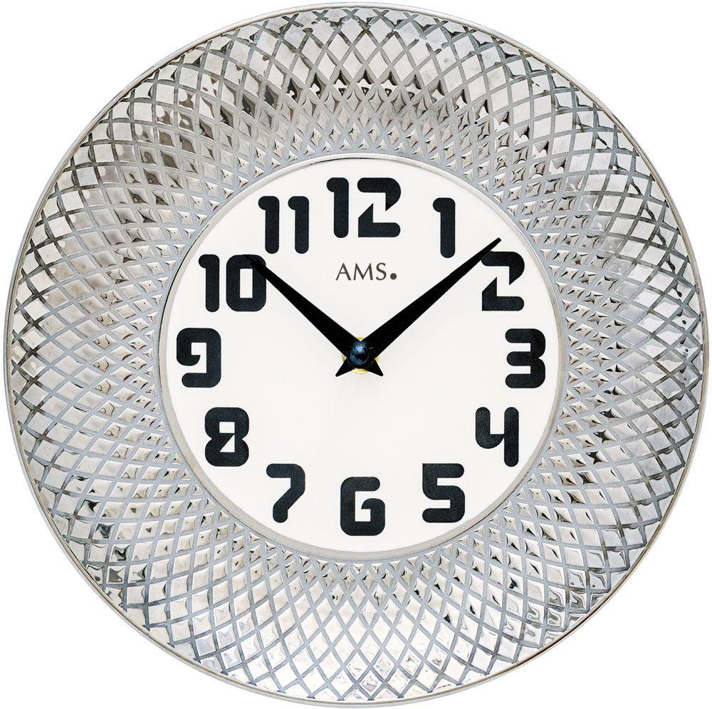 Ceas de perete AMS 9614 D27 cm