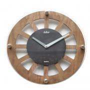 Ceas de perete Adler 1158 Wenge/Stejar sticla/lemn 31 cm