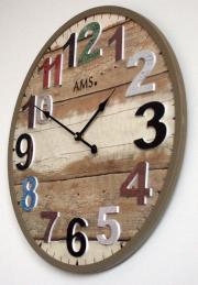 Ceas de perete AMS 9539 -D50 cm
