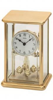 Ceas de birou AMS 1211 Auriu 23x14 cm