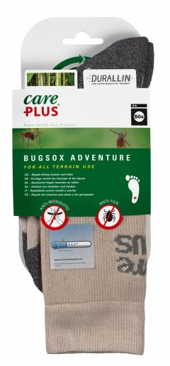 Sosete Care Plus® Bugsox Adventure tratament anti capuse si tantari