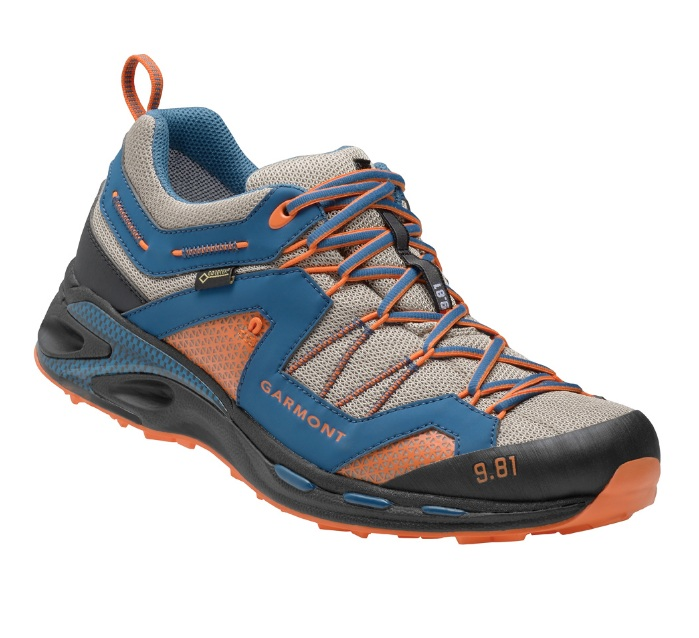Garmont 9.81 Trail Pro III night blue dark orange