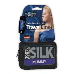 Lenjerie pentru sacul de dormit Sea to Summit Silk Liner Mummy