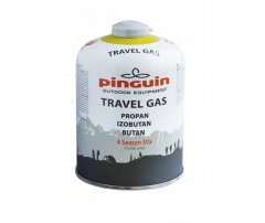 Butelie gaz, cu valva, Pinguin Travel Gas 450g