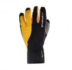 Tech Gloves Black Yellow