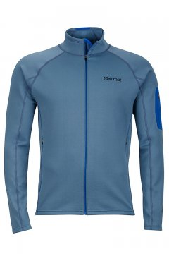 Stretch Fleece Jacket Storm Cloud