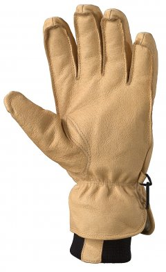 Basic Ski Glove Tan1