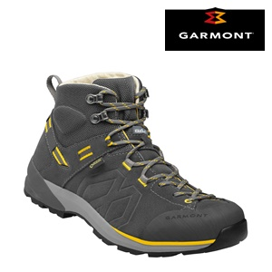 Santiago  Gtx Dark Grey Yellow