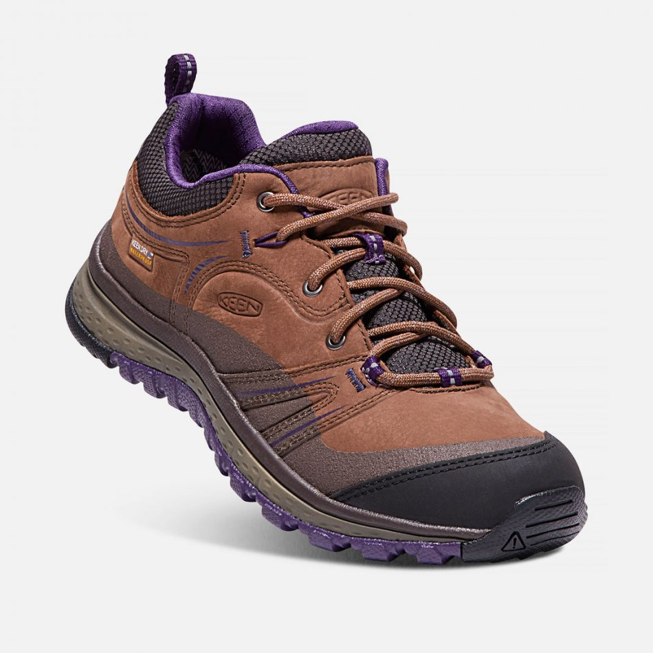 Keen Terradora Leather WP scotch mulch 1017757
