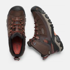 Keen Targhee Exp Mid WP mulch burnt ochre 1017718 side