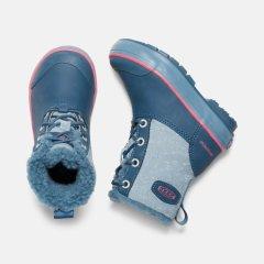 Elsa Boots Blue 1