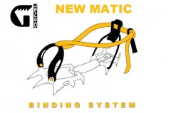 Grivel New Matic binding system