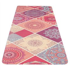 Yate Yoga Mat model A pink open