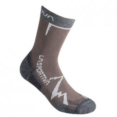 Mountain Socks Chocolate Carbon