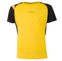 Motion Tshirt Yellow Black