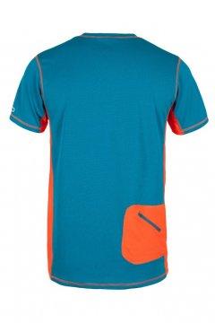 Milo Tlell Turquoise Orange B