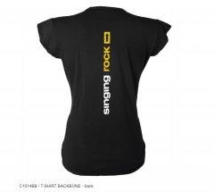 SR TShirt Backbone black wms back