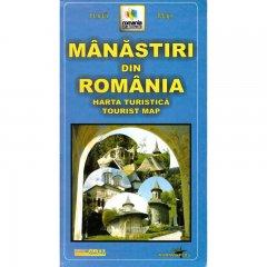 Harta Grai Manastiri din Romania