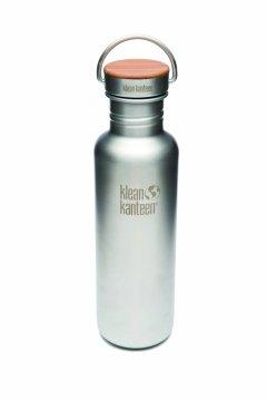 Bidon pentru apa din inox KleanKantten Reflect 0.8L