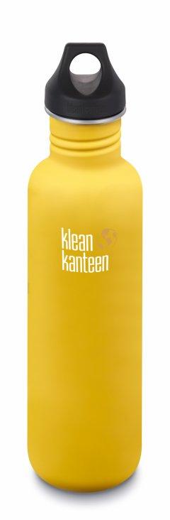 Bidon pentru apa din inox KleanKanteen Classic Loop Cap 0.8L
