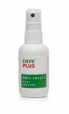 Spray anti-insecte CarePlus Deet 50% 60ml
