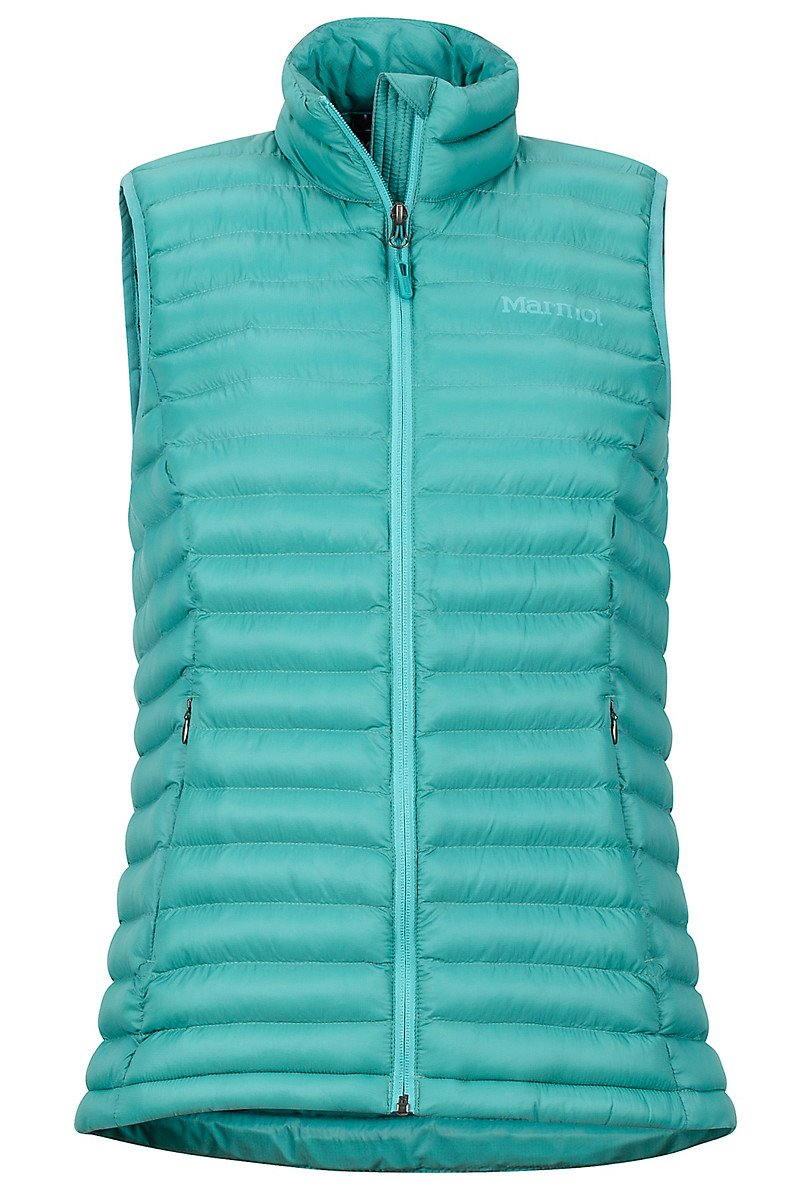 Solus Featherless Vest Wms Patina Green