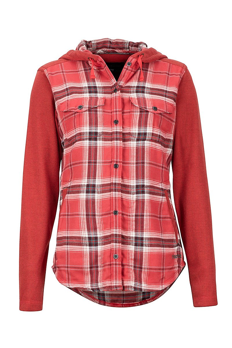 Midweight Reagan Flannel Desert Red