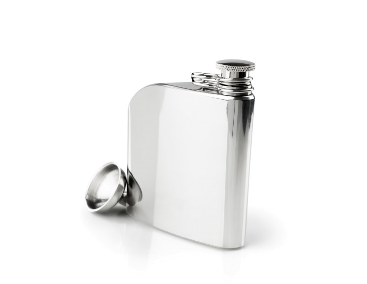 GSI Glacier Stainless Hip Flask