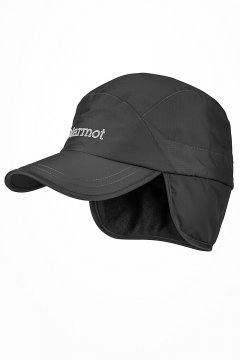 Precip Insulated Baseball Cap Black