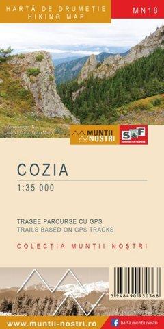 Schubert & Franzke Harta Munții Cozia