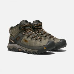 Targhee III Mid WP Black OliveGolden Brown5
