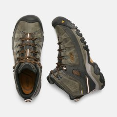 Targhee III Mid WP Black OliveGolden Brown1
