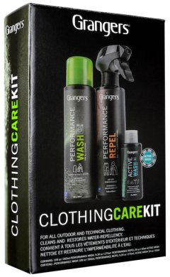 Set detergenti Grangers Clothing Care Kit