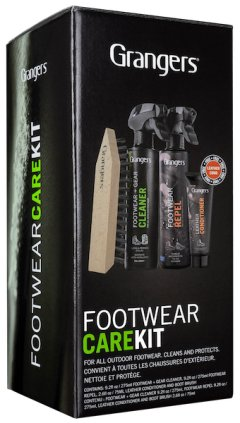 Set detergenti Grangers Footwear Care Kit