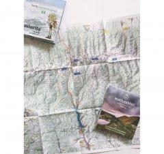 Harta de drumeție Munții Făgăraș