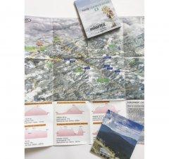 Harta cicloturistică Munții Cindrel