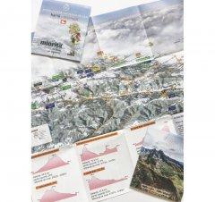 Harta cicloturistică Munții Retezat - Godeanu
