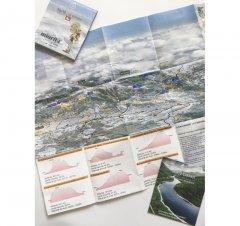 Harta cicloturistică Munții Țarcu - Cernei