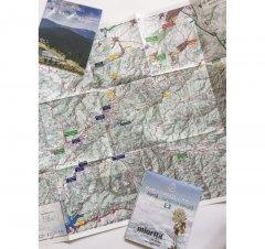 Harta de drumeție Munții Cindrel
