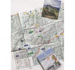 Harta de drumeție Munții Retezat - Godeanu