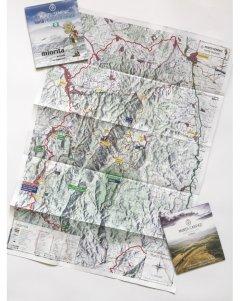 Harta de drumeție Munții Semenic